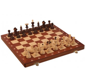 Шахматы GALICJA коричневые