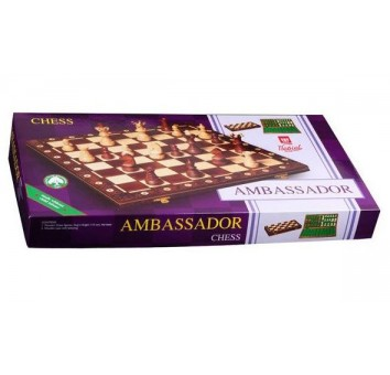 Шахматы Амбассадор черные - фото 3