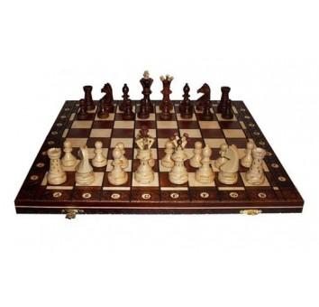 Шахматы Амбассадор махагон