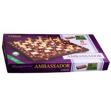 Шахматы Амбассадор махагон - фото 3