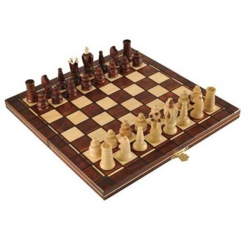 Шахматы Мини Роял коричневые