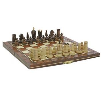 Шахматы Мини Роял коричневые - фото 2