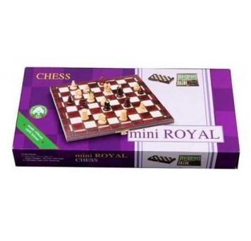 Шахматы Мини Роял коричневые - фото 3