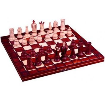 Шахматы Мини Роял махагон