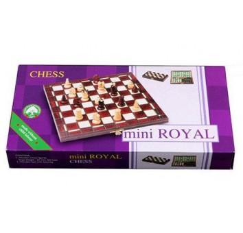 Шахматы Мини Роял махагон - фото 2