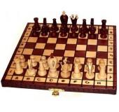 Шахматы Роял 30 махагон