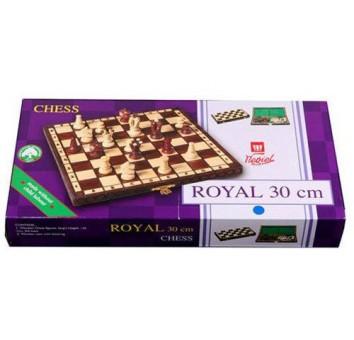 Шахматы Роял 30 махагон - фото 2