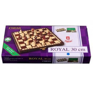 Шахматы Роял 30 чёрные - фото 2