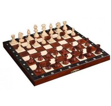 Шахматы туристические коричневые