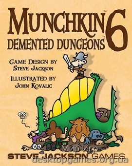 Munchkin 6 Demented Dungeons Color