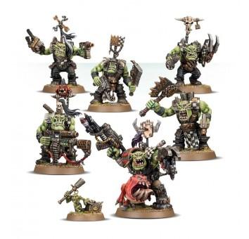 Ork Warboss Grukk's Boss Mob