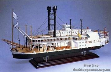 Масштабная модель корабля Роберт Е. Ли (Robert E. Lee)