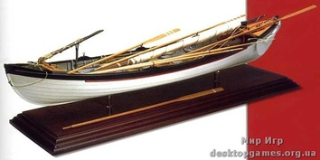 Деревянная модель корабля Вельбот (Baleniera Whaleboat)