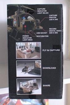 Радиоуправляемый вертолет с фото и видео сьемкой