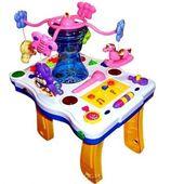 Музыкальный развивающий столик с каруселью