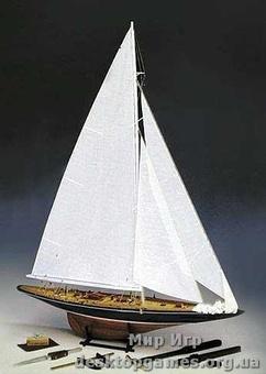 Сборная модель яхты Эндевор (ENDEAVOUR)