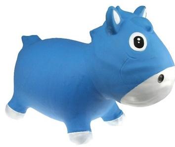 Прыгун Kidzzfarm лошадка Гарри Голубой с белым