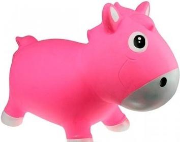 Прыгун Kidzzfarm лошадка Гарри Розовый с белым