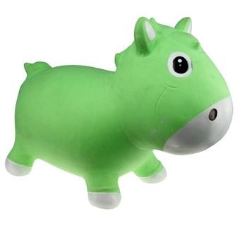 Прыгун Kidzzfarm лошадка Гарри Зеленый с белым