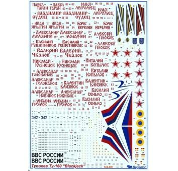 Туполев Ту-160 1/144