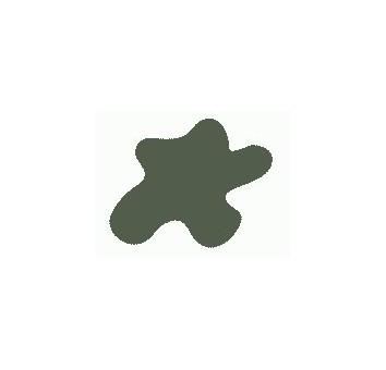 Краска Mr.Color, цвет: Оливково-коричневый (2) (бронетехн., США), тип: Матовый