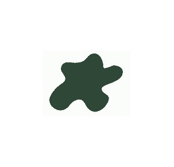 Краска Mr.Color, цвет: Оливково-зелёный (авиация, Германия, ІІ Мировая), тип: Полуматовый