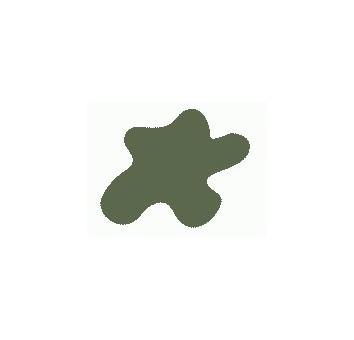 Краска Mr.Color, цвет: Тёмно-зелёный (KAWASAKI) (авиация, Япония, ІІ Мировая), тип: Полуматовый