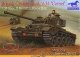 Британский крейсерный танк А34 «Комета«