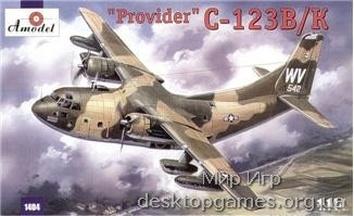 C-123B/K «Provider». Транспортный самолёт ВВС США