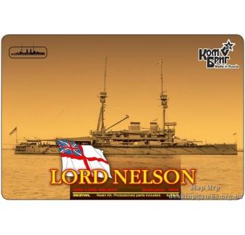 Броненосец HMS Lord Nelson Battleship, 1908 (Корпус по ватерлинию)