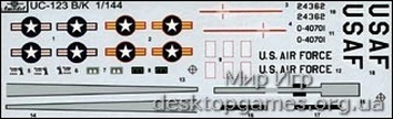 UC-123K «Provider» Транспортный самолёт ВВС США. - фото 2