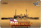 Броненосец HMS Agamemnon Battleship, 1908 (Корпус по ватерлинию)