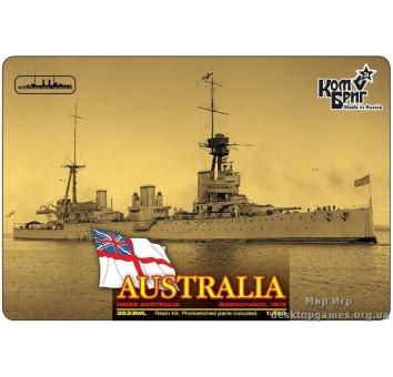 Линейный крейсер HMAS Australia Battlecruiser (Корпус по ватерлинию)