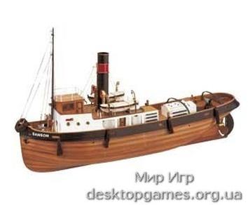 Сборный деревянный корабль SANSON
