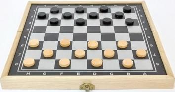 Шашки, шахматы, нарды 3 в 1 - фото 3