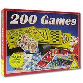 """Набор настольных игр """"200 в 1 + шахматы"""""""