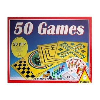 """Набор настольных игр """"50 в 1"""""""