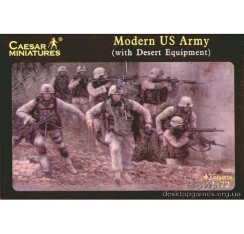 Современная армии США (с оборудованием для пустыни)