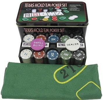 Покерный набор на 200 фишек «Техасский холдем» - фото 2
