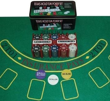 Покерный набор на 200 фишек «Техасский холдем» - фото 3