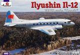 Советский транспортный самолет Илюшин Ил-12 «Междугородный автобус»