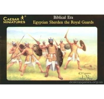Египетские шердены (Sherden) королевской гвардии