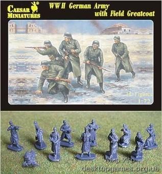 Немецкая армия в полевой шинели