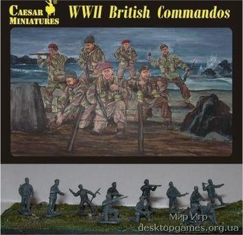 Британские коммандос Второй мировой войны