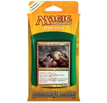 Magic. Dragon`s Maze. Intro Pack. Gruul Siege