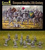 European knights, 15th century