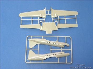 Модель пассажирского самолета Ил-12 - фото 2