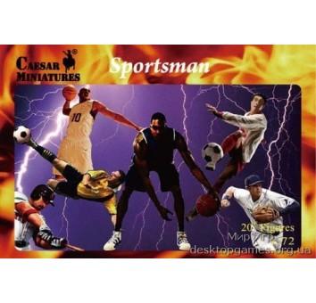 Спортсмены (набор №3)