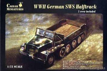 WWII German SWS Halftrack