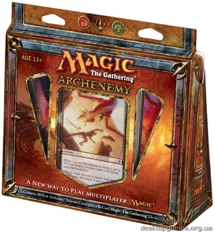 Magic. Archenemy: Scorch The World With Dragonfire